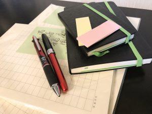 ペンと原稿用紙